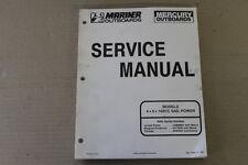 MARINER MERCURY SERVICE MANUAL 4/5/102CC SAIL POWER USA SERIAL 0A809601 AND ABOV