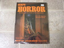 Horror Role Playing Games