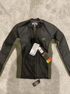 Billabong 1mm Men's REVOLUTION Front Zip Jacket size Medium