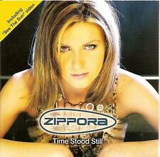 ZIPPORA - time stood still CDS!! 2TR eurodance 2002