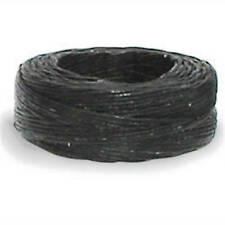 Linen Thread Black Waxed 25 Yd Spool 11207-01 Tandy Leather Craft Sewing