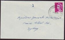 "QUEENSLAND POSTMARK ""VICTORIA POINT"" ON 1973 COMMERCIAL COVER (RU0596)"