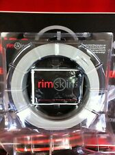 "RIMSKINS-4X SILVER 20"" DUABLE PROTECTION FOR YOU RIMS-MAGS COVERS WHEEL DAMAGE"