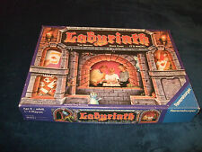 LABYRINTH-- THE MOVING MAZE GAME-- BY RAVENSBURGER 1992 FAMILY BOARD GAME