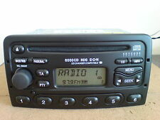 FORD 6000 RDS CAR RADIO CD PLAYER - TRANSIT FOCUS CONNECT MONDEO PUMA FIESTA