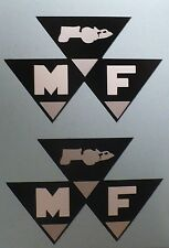 MF DECAL for Red (MASSEY-FERGUSON) Pedal Tractor Wagon, Adhesive, M998