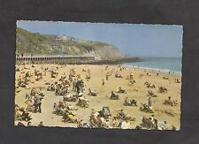 c1970s View of People/ Deckchairs: East Beach: Folkestone