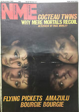 NME 10 DECEMBER 1983 COCTEAU TWINS, AMAZULU, BOURGIE, F. PICKETS, DEATH CULT
