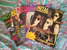 Lotto Metal Shock / Flash Magazine varie annate