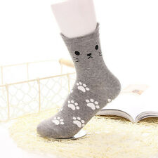 874163246 Wholesale Girl Women Lovely Cute Cat Socks Animal Cartoon Cotton Socks 5  Colors
