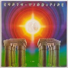 EARTH, WIND & FIRE: I Am. USA Orig COLUMBIA ARC Vinyl LP Inner Soul Funk VG+
