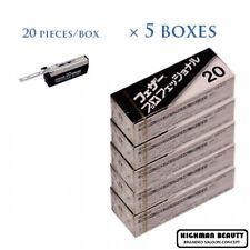 Feather  Artist Club PB20 Professional  20Pcs X 5BOX  100 Blade  MADE IN JAPAN