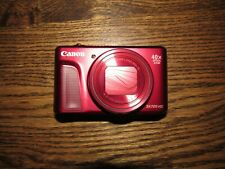 Canon PowerShot SX720 HS Digital Camera (Red) Refurbished