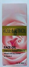 SPA COSMETICS Rose & Retinol Face Oil Intensive Retinol Formula & Vitamin E NIB