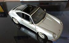 Ut Modelos 1/18 Porsche 911 (993) TARGA (Puerta, Autoart) Sin Caja De Plata