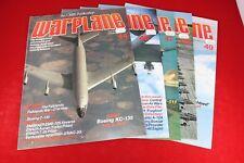 (BS) Military Magazine: Orbis Warplane 5 Magazine Lot #6, Issues 44 46 47 48 49