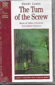 The Turn of the Screw Audiobook Cassette Abridged - Henry James - Factory Sealed