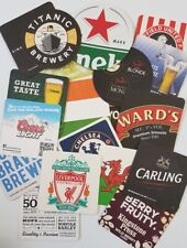 Set of 25 different brand new Beer Mats from the pubs of England Series 3  (pp)