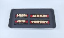 28Pcs SHOFU ENDURA Full Denture False Tooth Resin Fake Teeth M32 A2 Upper+Lower