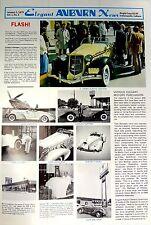 Elegant Motors News Paper Sales Sheet Catalog Specifications Information parts