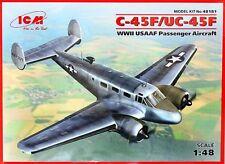 Beechcraft C-45F/UC-45F expeditor (usaaf, french af & italian af MKGS) 1/48 icm
