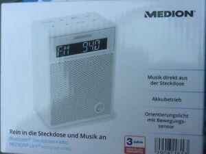 Steckdosenradio Medion MD47002 MD 47002 47000 schwarz