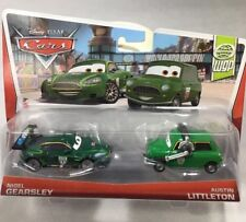 "2013 Disney Pixar CARS 2 Diecast 2-pack: ""NIGEL GEARSLEY & AUSTIN LITTLETON"" WGP"