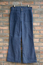 VTG 70s LEVI'S BLUE DENIM BELL BOTTOM FLARED HIGH WAIST JEANS HIPPY BOHO W30 L30