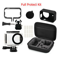 Underwater Housing Case Side Frame Cover Full Protect Kit Fr Xiaomi Mijia Camera