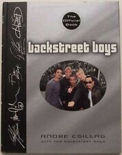 Backstreet Boys The Official Book 2000 By Andre Csillag With Backstreet Boys