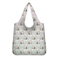 More details for italian spinone shopping bag reusable foldable washable lovely gift idea