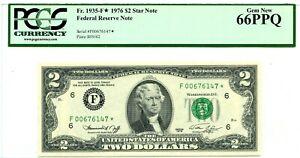 $2 DOLLARS 1976 STAR NOTE FEDERAL RESERVE ATLANTA F 1935 F * LUCKY MONEY $350
