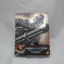 Terminator Salvation (2018, Blu-ray) Quarter 1/4 Slip Steelbook Korean Edition