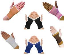 2 Elastic Wrist Glove Palm Hand Support Arthritis Brace Sleeve Bandage Wrap Gym