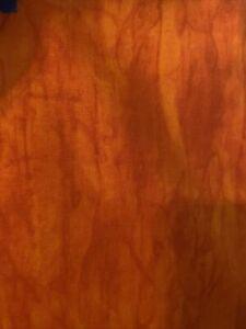 Batik Fabric By Half-Yard Orange Premium Cotton