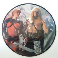 "Thor - Thunder On The Tundra - Vinyl 7"" Picture Disc Single Original EX"