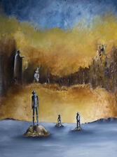 Peinture de GARNIER-LAFOND - Jean Moulin parle au Lapin…………