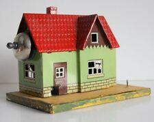 Karl Bub KBN Spur 0/1 Wärterhaus mit Läutewerk Blech 1920-30er Jahre Gauge O