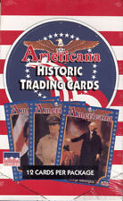 Americana Historic Trading Card Box