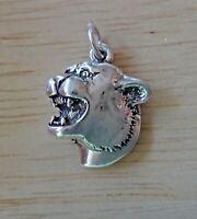 Sterling Silver 18x23mm Cloud Avec Arc /& POT D/'Or Charme!