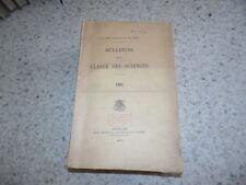 1903.bulletin classe des sciences.Académie royale de Belgique...