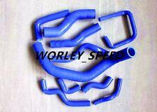 BLUE Silicone Radiator Hose For Nissan Silvia 200SX 240SX, PS13 S13 S14 SR20 DET