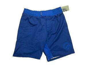 Shoyoroll Monochrome Training Fitted Shorts BLUE Size Large