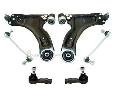 VAUXHALL CORSA C 1.2 16V SXi FRONT 2 WISHBONE ARMS + 2 LINKS + 2 TRACK ROD ENDS