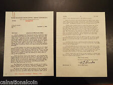 1935 Winchester Repeating Arms Company letterhead letter