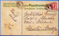 1916 - Posta dei Bambini -cartolina postale viaggiata - rara
