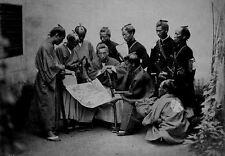 Stampa incorniciata-giapponese BUSHIDO Masters (PICTURE Asiatico Orientale Samurai ART)