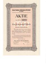 Neue Boden AG Berlin  1924   ungelocht