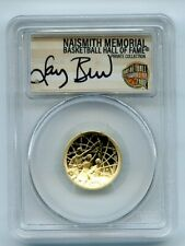 2020 W $5 Basketball Hall of Fame Gold Commemorative PCGS PR70DCAM FS Larry Bird