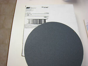 3M 21347 431Q WET OR DRY Tri-M-ite PAPER 120C 8 X NH  Box of 95 discs